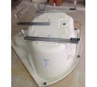Каркас з ніжками для асиметричної ванни Cataniaа TM RedokssSan