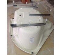 Каркас з ніжками для кутової ванни Barletta 150 TM RedokssSan