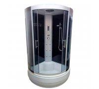 Гидромассажный бокс ATLANTIS AKL-100P-STANDART GR-стекла-графит (100*100*215)