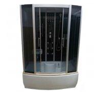 Гидромассажный бокс ATLANTIS AKL-1107M GR-стекла-графит (170*85*215)