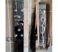Гідромасажна панель з нержавіючої сталі хромована ATLANTIS AKL 9004