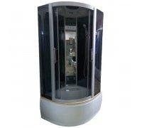 Гідромасажний душовий бокс Ocean 90 Classic (стекла-графіт) 90х90х215