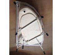 Универсальный каркас с ножками ТМ BLISS для асимметричных акриловых ванн длиной от 140 до 170см