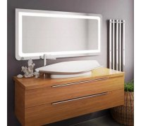 Зеркало прямоугольное закруглённое с LED подсветкой VERTO в размере под заказ