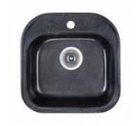 Кухонная гранитная мойка FOSTO 48x49 SGA-420 (черный)