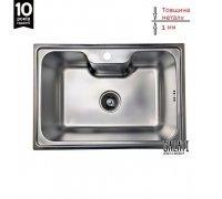 Кухонна мийка Galaţi Bella Satin 600*430*195