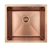 Кухонная мойка нержавейка в цвете бронза толщиной 1мм IMPERIAL D4843BR Handmade 2.7/1.0mm