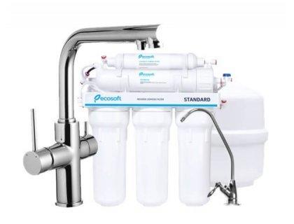 Cмеситель для кухни DAICY 55009-F хром Imprese с фильтром Ecosoft Standart 5 ступеней чистки