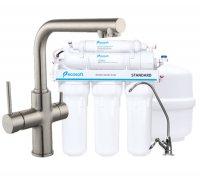 Cмеситель для кухни DAICY 55009S-F сатин Imprese с фильтром Ecosoft Standart 5 ступеней чистки