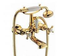 Смеситель для ванны CUTHNA antiqua золото 10280 zlato Imprese (Чехия)