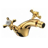 Смеситель для биде CUTHNA antiqua золото 40280 zlato Imprese (Чехия)