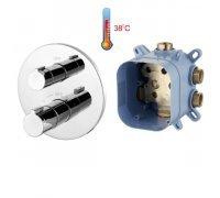 Змішувач для ванни з термостатом прихованого монтажу CENTRUM VRB-15400Z Imprese (Чехія)