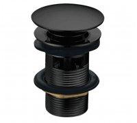 Клапан донний для умивальника ZMK041807500 GRAFIKY Pop-up чорний нікель Imprese (Чехія)