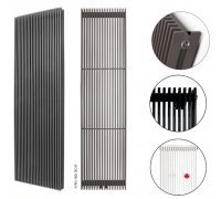 Радиатор секционный Instal Projekt AFRN-180/18 белый 399*1800
