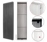 Радиатор секционный двухрядный Instal Projekt AFRNХ-180/18 белый 399*1800