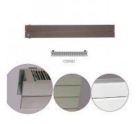 Радиатор секционный горизонтальный Instal Projekt COVХ21-100/02 белый 1000*143