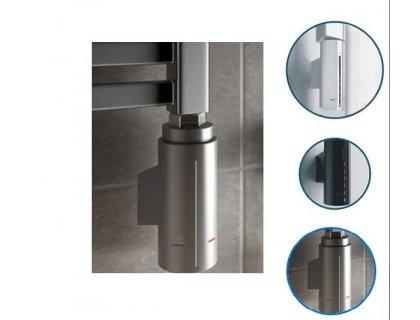 Тэн для полотенцесушителя без вилки скрытого монтажа HOTS-C3NO в серебряном цвете Instal Projekt