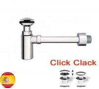 Сифон для умывальника Clic-clak пластик/хром S-442 JIMTEN (Испания)