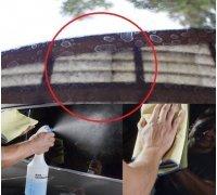 Средство для мытья стёкл от известкового налёта FINISH SPRAY EXTERIOR 1л Koch-Chemie