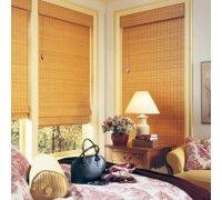 Бамбукові римські штори в спальню під замовлення RSHRB-05 РОЛЕТИ УКРАЇНИ