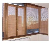 Бамбуковые рулонные шторы на балкон под заказ RSHB-02 РОЛЕТЫ УКРАИНЫ