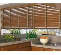 Горизонтальные бамбуковые жалюзи на кухню под заказ GBJ-4 РОЛЕТЫ УКРАИНЫ