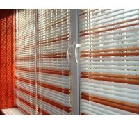 Горизонтальные алюминиевые жалюзи разных цветов под заказ GAJ-9 РОЛЕТЫ УКРАИНЫ