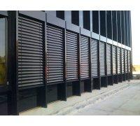 Наружные жалюзи для офисных помещений под заказ RSHR-2 РОЛЕТЫ УКРАИНЫ