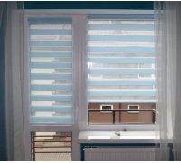 Рулонные шторы ДЕНЬ-НОЧЬ для окон и балконных дверей под заказ RSHDN-03 РОЛЕТЫ УКРАИНЫ