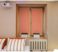 Рулонные шторы закрытого типа для гостинной под заказ RSHZT-19 РОЛЕТЫ УКРАИНЫ