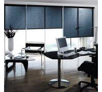 Рулонні штори відкритого типу в офіс під замовлення RSHOT-13 РОЛЕТИ УКРАЇНИ