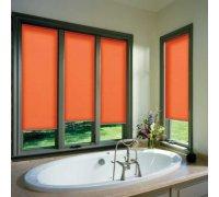 Рулонные шторы открытого типа для ванной комнаты под заказ RSHOT-8 РОЛЕТЫ УКРАИНЫ