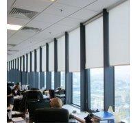 Рулонні штори закритого типу в офіс під замовлення RSHZT-13 РОЛЕТИ УКРАЇНИ