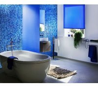 Рулонні штори закритого типу для ванної кімнати під замовлення RSHZT-8 РОЛЕТИ УКРАЇНИ