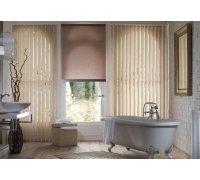 Вертикальные тканевые жалюзи в ванную комнату под заказ VJ-12 РОЛЕТЫ УКРАИНЫ