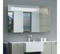 Зеркало с LED подсветкой MERCADO SNAIL (Ш*В) 106*80 см
