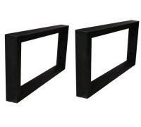 Комплект тримачів для стільниці або умивальника SNAIL РВ в чорному кольорі 400х200х30мм
