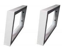 Комплект тримачів для стільниці або умивальника SNAIL РW в білому кольорі 400х200х30мм