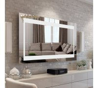 Зеркало с LED подсветкой SALVIA SNAIL (Ш*В) 106*80 см