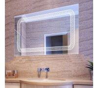 Зеркало с LED подсветкой VIOLA SNAIL (Ш*В) 106*80 см