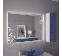 Зеркало с LED подсветкой ЛАТАКИЯ SNAIL (Ш*В) 100*80 см