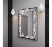 Зеркало с LED подсветкой ЛИМА SNAIL (Ш*В) 60*80 см