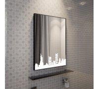 Зеркало с LED подсветкой НЬЮ-ЙОРК SNAIL (Ш*В) 60*80 см