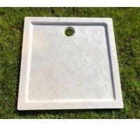 Душевой квадратный поддон из искусственного камня 131A333 ПАНДОРА SNAIL 90x90 цвет АРКТИК