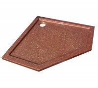 Душевой пятиугольный поддон из искусственного камня ПРЕМЬЕР SNAIL 90x90 (цвет на выбор)