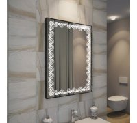 Зеркало с LED подсветкой ВАВИЛОН SNAIL (Ш*В) 60*80 см