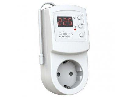 Терморегулятор с выносним датчиком температуры Terneo RZ