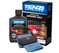 Полироль премиум класса с керамическим воском для защиты и блеска кузова авто CERAMIC WAX TENZI 0.3 литра
