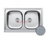 Кухонна мийка ULA 5104 ZS Decor 08