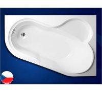 Ванна акриловая асимметричная 147*100 SELENA правая Vagnerplast